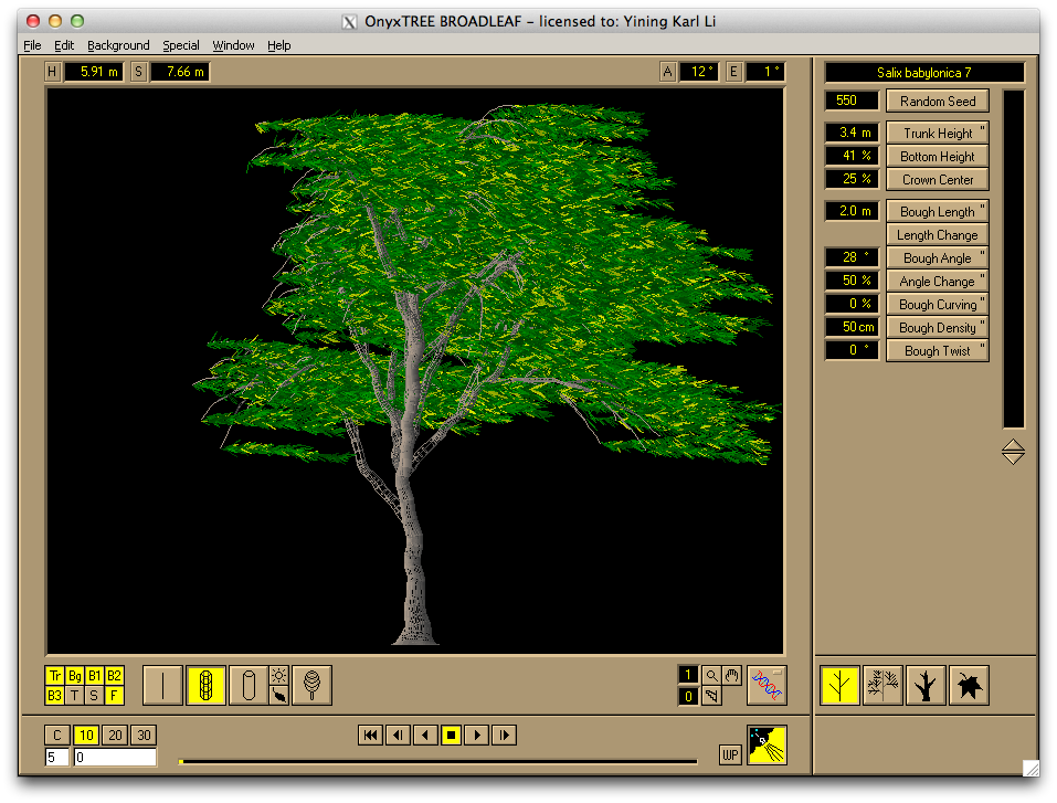 It turns out OnyxTREE runs fine in Wine on OSX. Huh