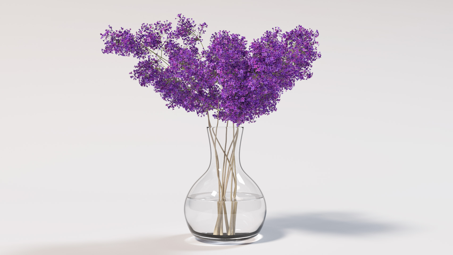 Rendered in Takua a0.5 using BDPT. Note the complex caustics from the vase and water.