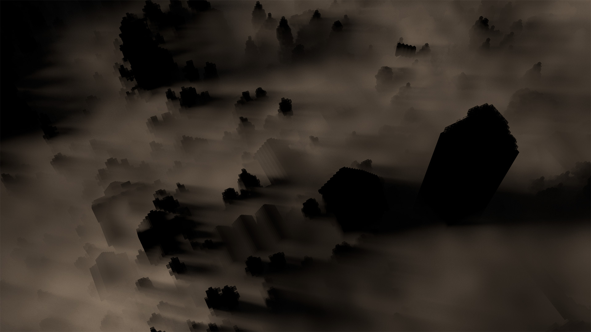My initial attempt at the fog pass.