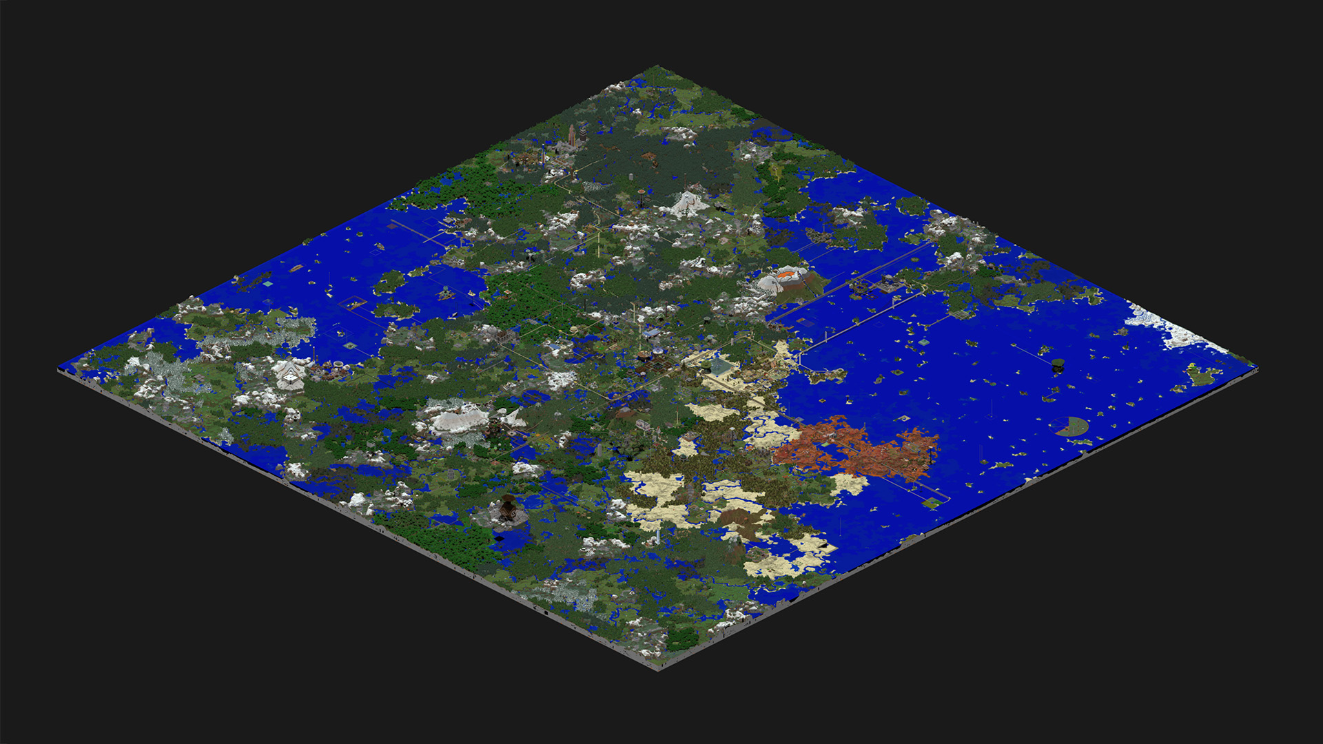 Cartograph view of Revision 17 of the Nerd.nu PvE server, located at p.nerd.nu. Click through to go to the full, zoomable cartograph.
