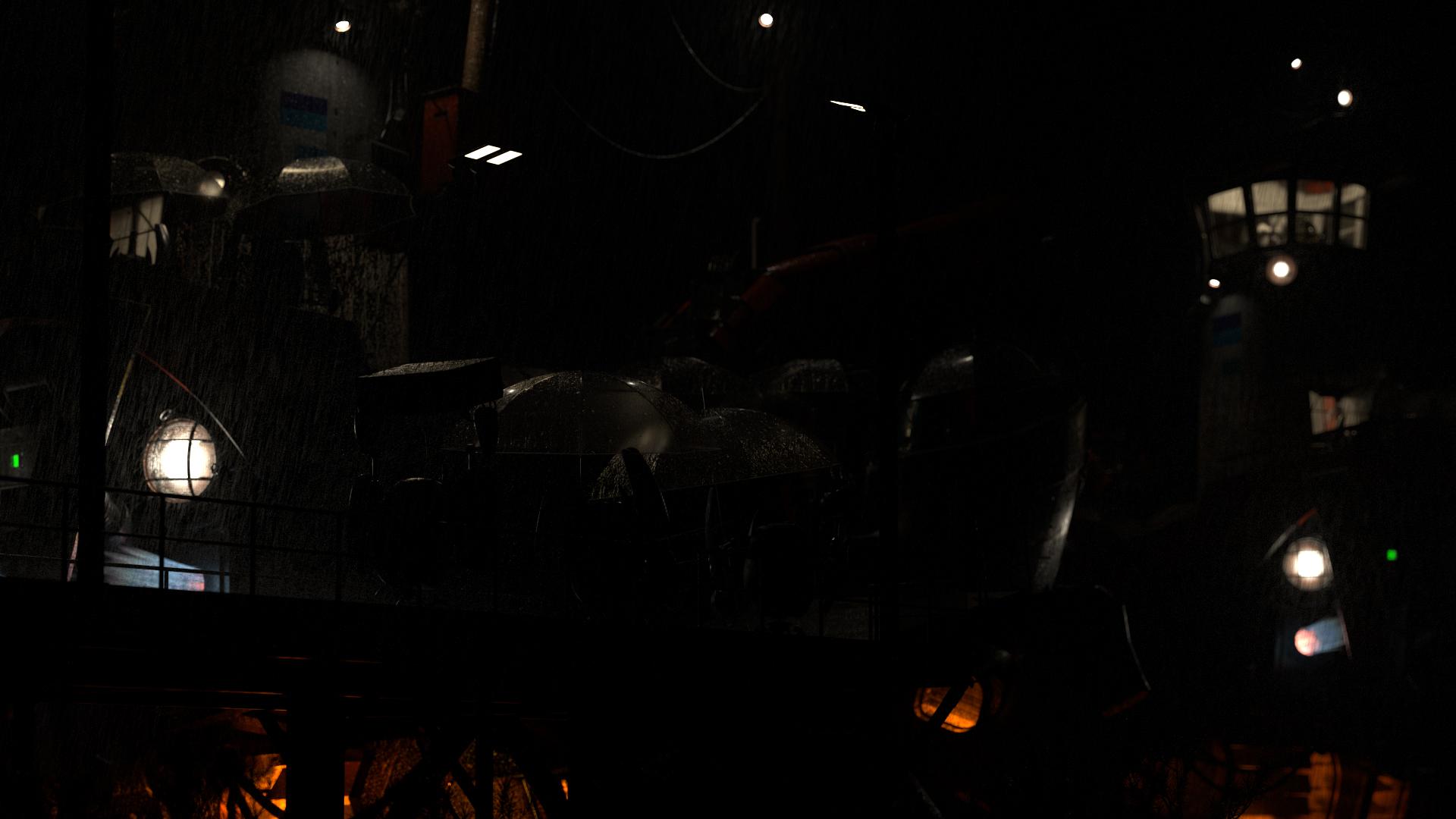 Figure 45: Final render, practical lights lighting pass.