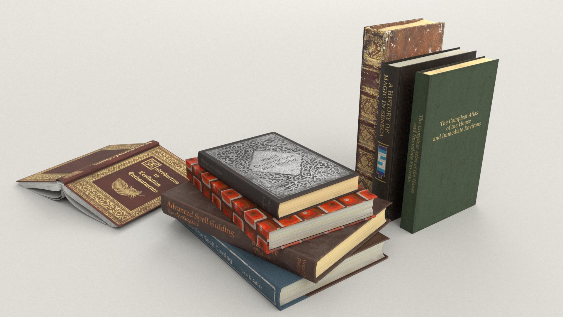 Figure 38: A bunch more books, including a Seneca book!