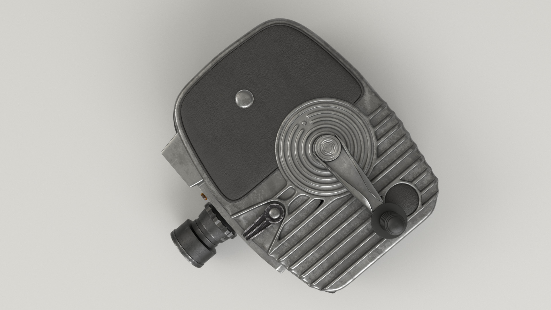 Figure 23: Top view of the camera.